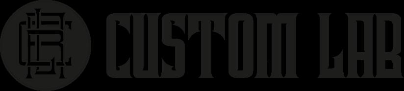 Custom Lab Logo Preta